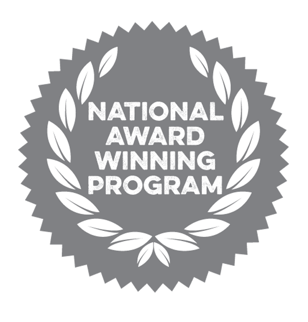 National Award Winning Program